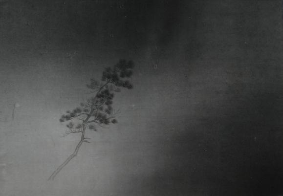 朱建忠, 无题04 Untitled 04, 68x45cm, 纸本水墨, 2015