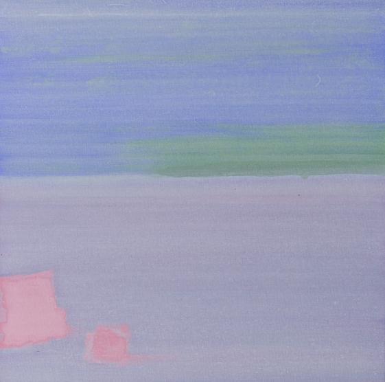 白京生,作品之十八,布面丙烯,60x60cm, 2018